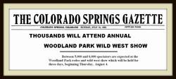 a 1921 Rodeo Draws Big Crowds