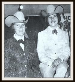 p 1965 Candy Tillman & Joyce Kontny