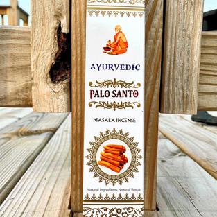 Ayurvedic Palo Santo Incense