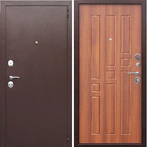 Дверь входная металлическая Гарда ВО 2 замка