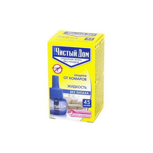 Жидкость от комаров 45 ночей Чистый дом