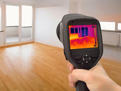 Предоставляем новую услугу по тепловизионному обследованию окон на наличие теплопотерь.