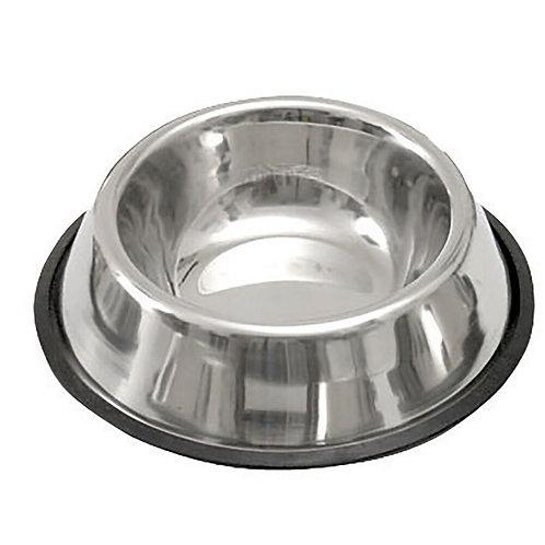Миска для собак нержавеющая сталь на резине 1,6л