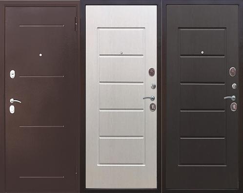 Дверь входная металлическая Гарда антик 7,5 см