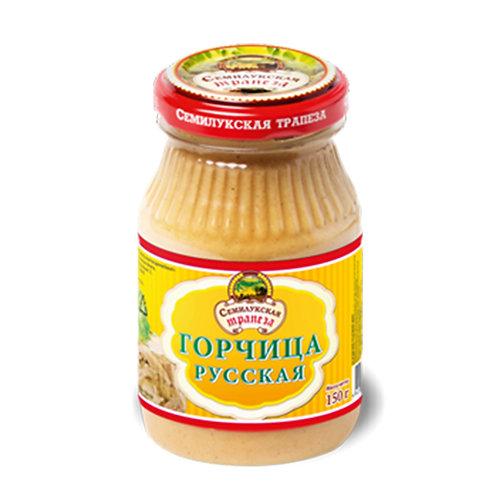 Горчица русская семилукская трапеза 150г