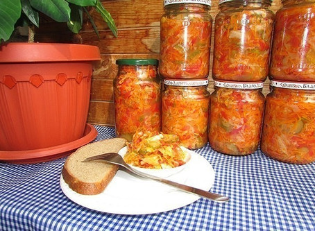 Вкусные рецепты. Салат ГЛОБУС