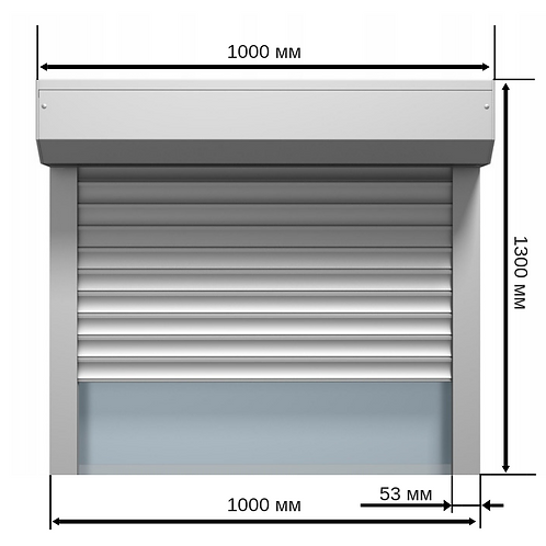 Профиль RHE-45 1000х1300мм
