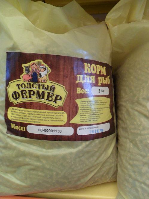 Корм для рыб ТФ 3 кг