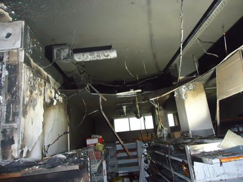 """Восстановили магазин """"Верный"""" после пожара в г. Одинцово."""