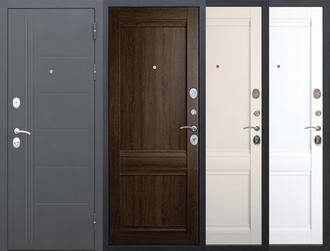 Дверь входная металлическая Троя Муар Царга Феррони 10 см