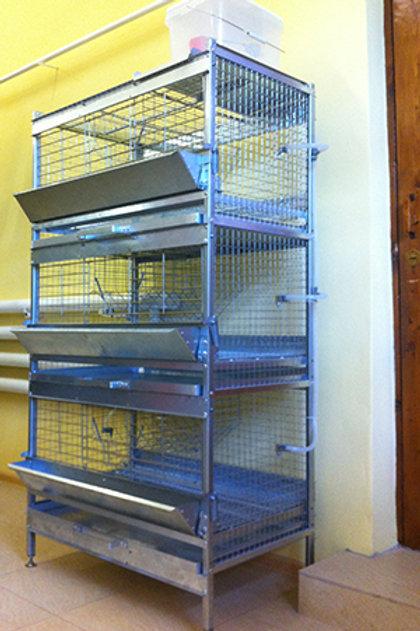 Клетка ККФ-О-3.1 для откорма кроликов