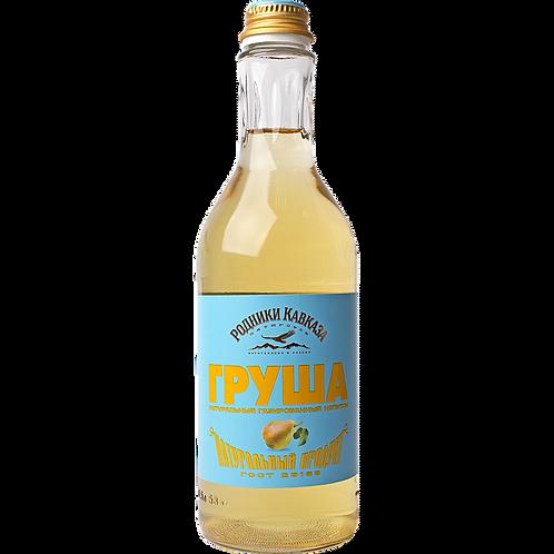 Газированный напиток Родники Кавказа груша 0.5 л