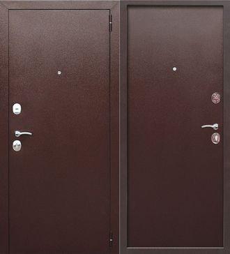 Дверь входная металлическая Гарда метал/метал