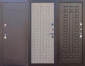 Дверь входная металлическая ISOTERMA 11 см медный антик