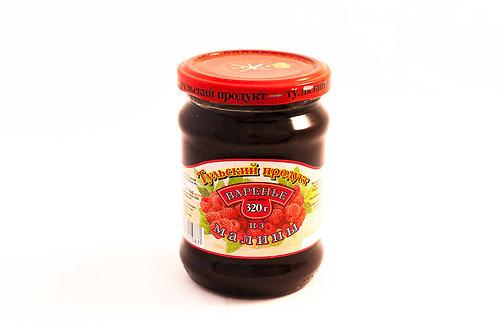 Варенье малиновое тульский продукт 320 гр