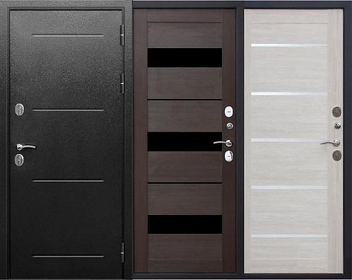 Дверь входная металлическая ISOTERMA 11 см серебро царга