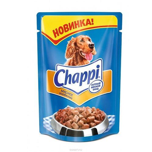 """Корм для собак """"Chappi"""" мясное изобилие 100 г"""