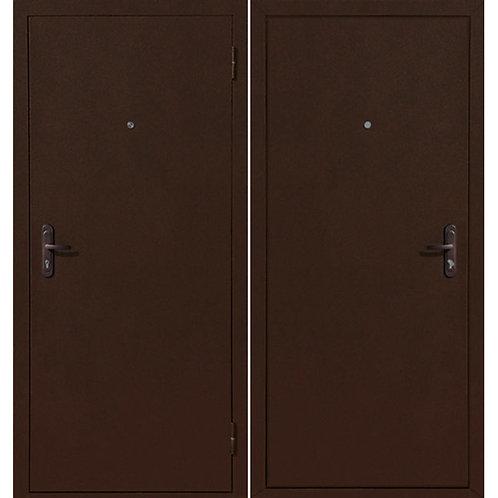 Дверь входная металлическая Стройгост 5 РФ металл/металл