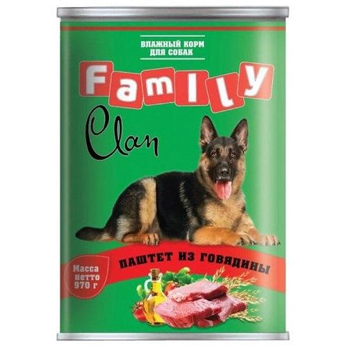 """Корм для собак """"Clan Classic"""" паштет 415 гр"""