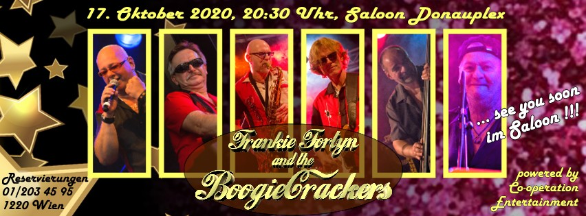 17. Oktober 2020  Frankie Fortyn and the Boogiecrackers