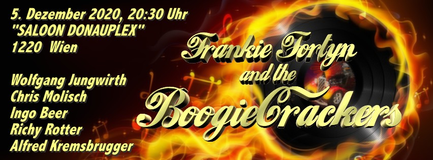 5. Dezember 2020 Frankie Fortyn and the Boogiecrackers