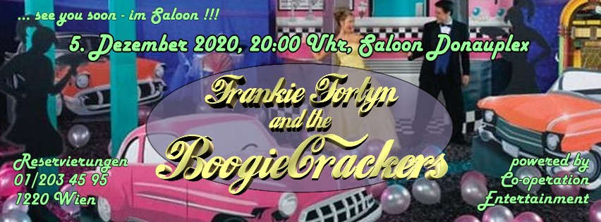 5. Dezember 2020 - Frankie Fortyn and the BoogieCrackers