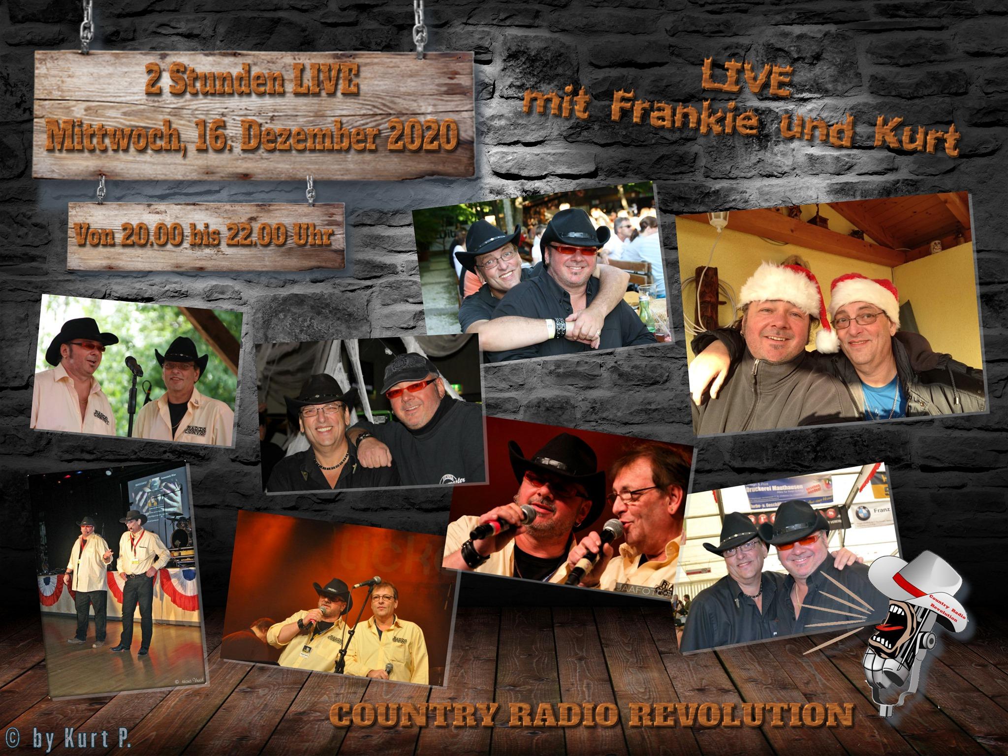 16. Dezember 2020 Frankie Fortyn bei Country Radio Revolution