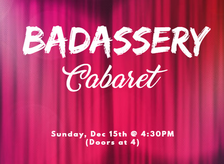 CABARET ANNOUNCEMENT