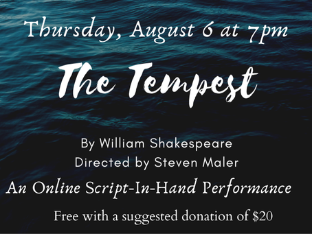 The Tempest on ZOOM