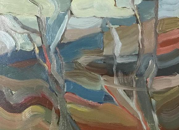 'Springtime at Polesden Lacey' (unframed)