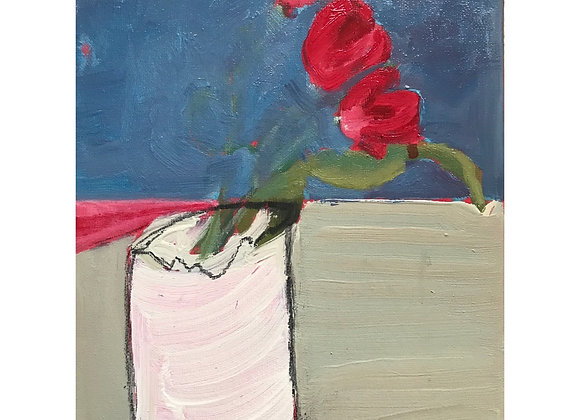 'Red tulips' (unframed)