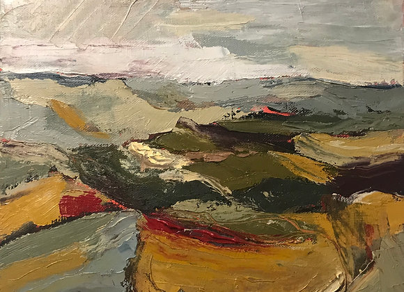 'Autumn at Harting Down, West Sussex' (unframed)
