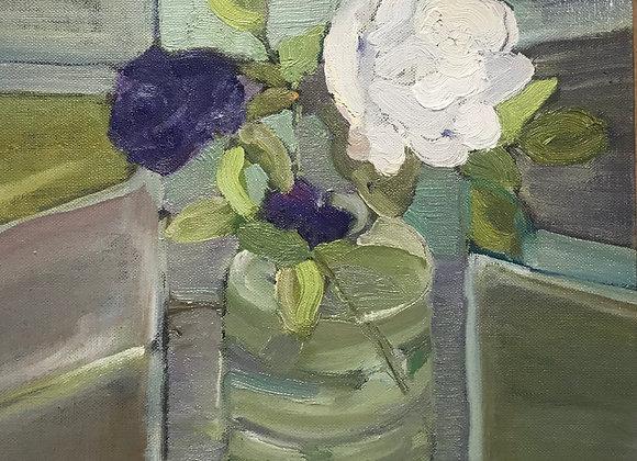White rose (unframed)
