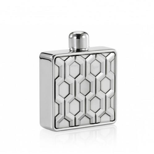 Hexagon Hip Flask