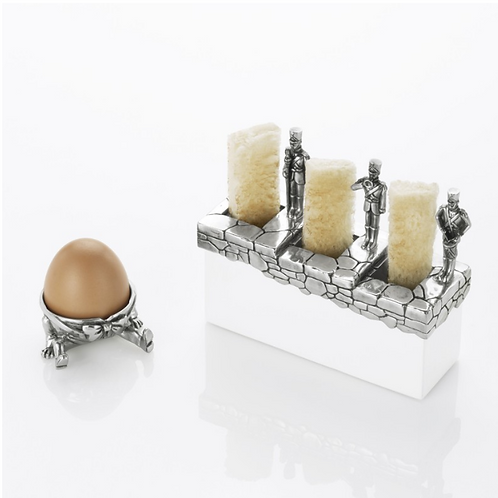 Egg Cup & Toast Soldier Holder