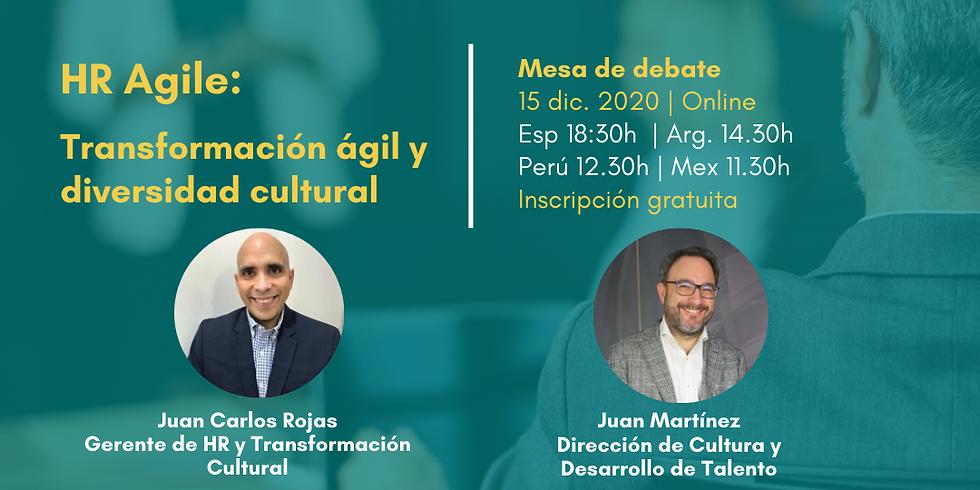 HR Agile: Transformación ágil y diversidad cultural