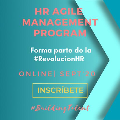 Tasas Certificación HR Agile Management Program