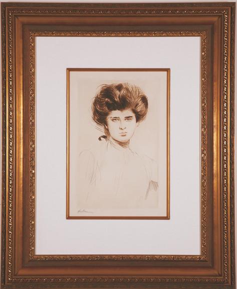 """Helleu """"Portrait de Femme"""""""