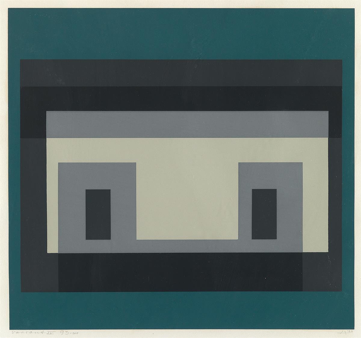 """Josef Albers """"Variant IV"""""""