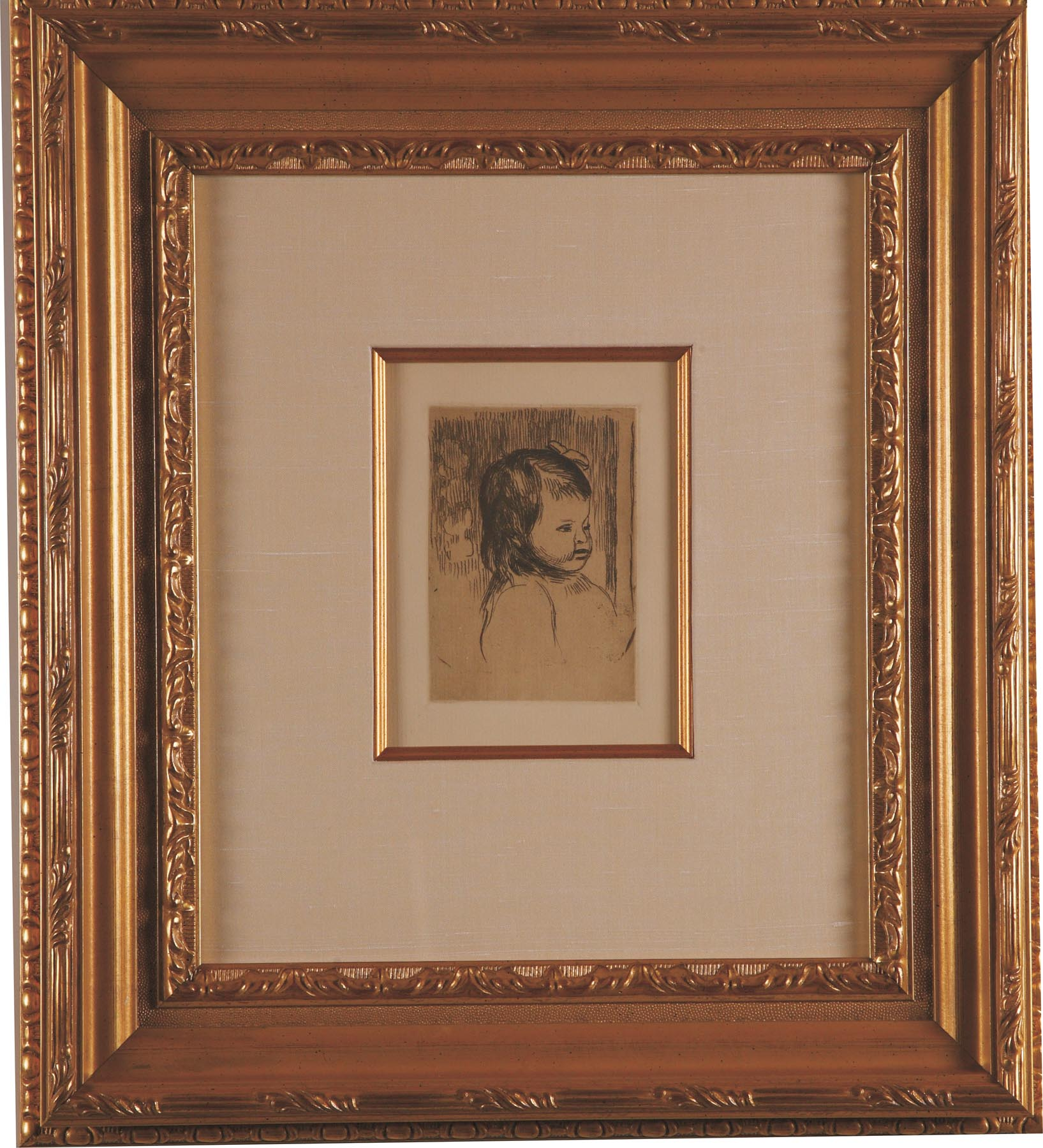 """Renoir """"Buste D'Enfant"""""""