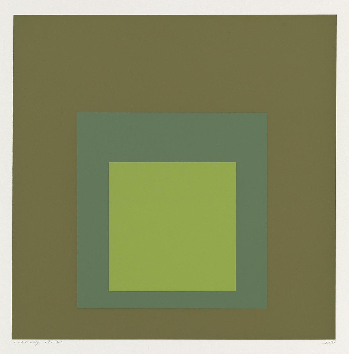 "Josef Albers ""Tuscany"""