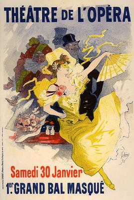 """Cheret """"Theatre de L'Opera"""""""