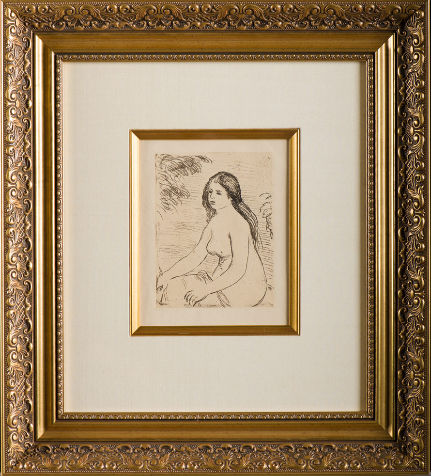 """Renoir """"Femme Nue Assise"""""""