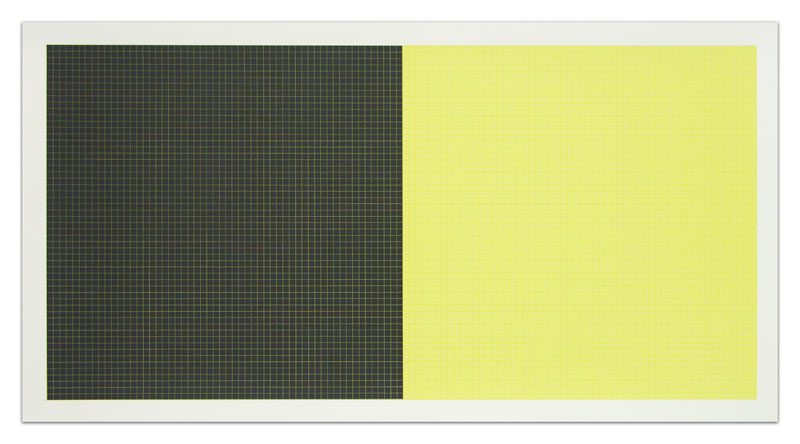 Sol Lewitt Grids and Color Plate 40