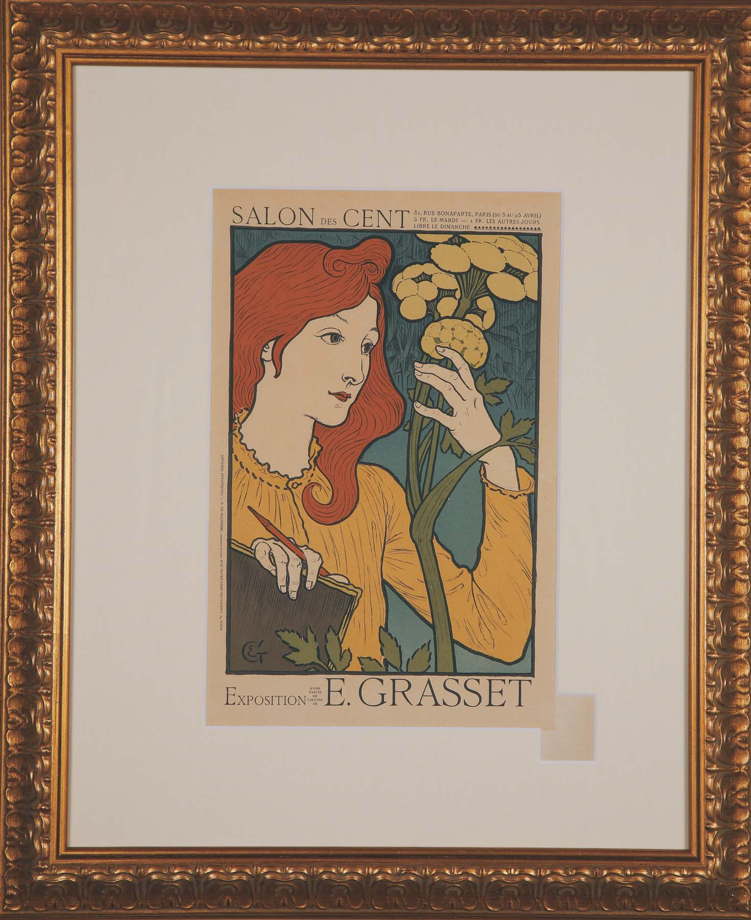"Grasset ""Salon des Cent"""