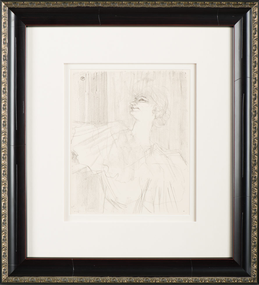 """Lautrec """"Yvette Guilbert"""""""