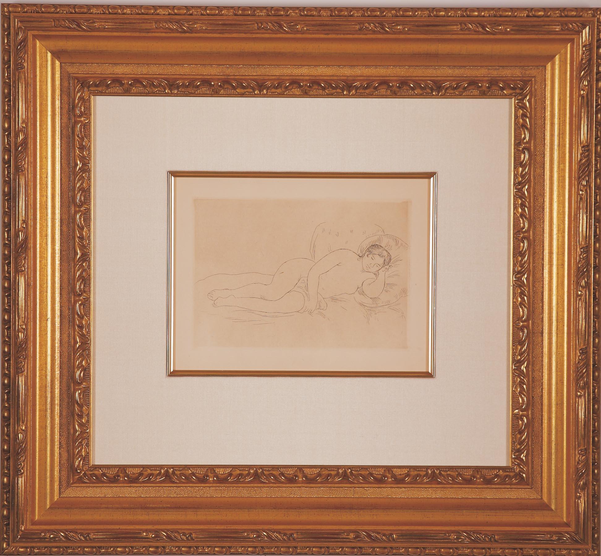 "Renoir ""Femme nue Couchee"""