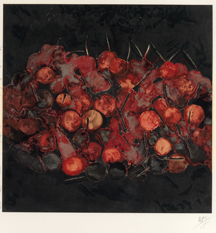"Donald Sultan ""Cherries"""