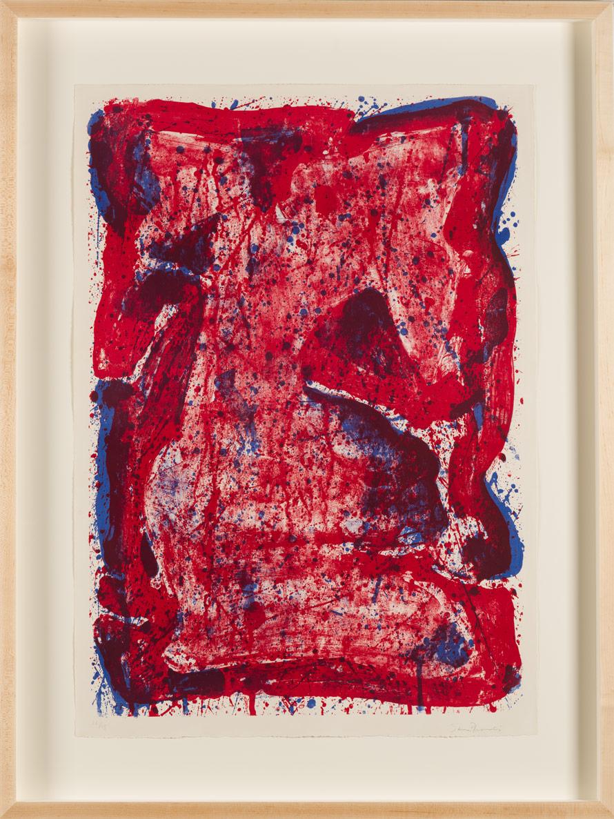 """Sam Francis """"Affiche Moderna Museet"""""""