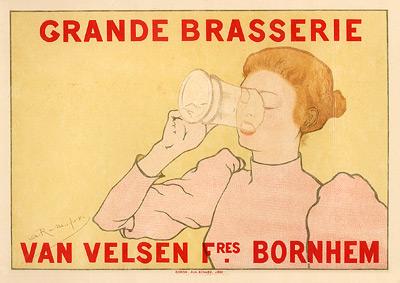 """Rassenfosse """"Grande Brasserie"""""""